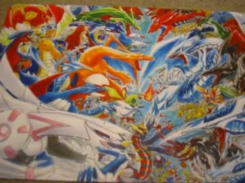 Pokemon Wallpaper Black And White Yugioh Playmat Collection For Trade Sale Epic Amazing