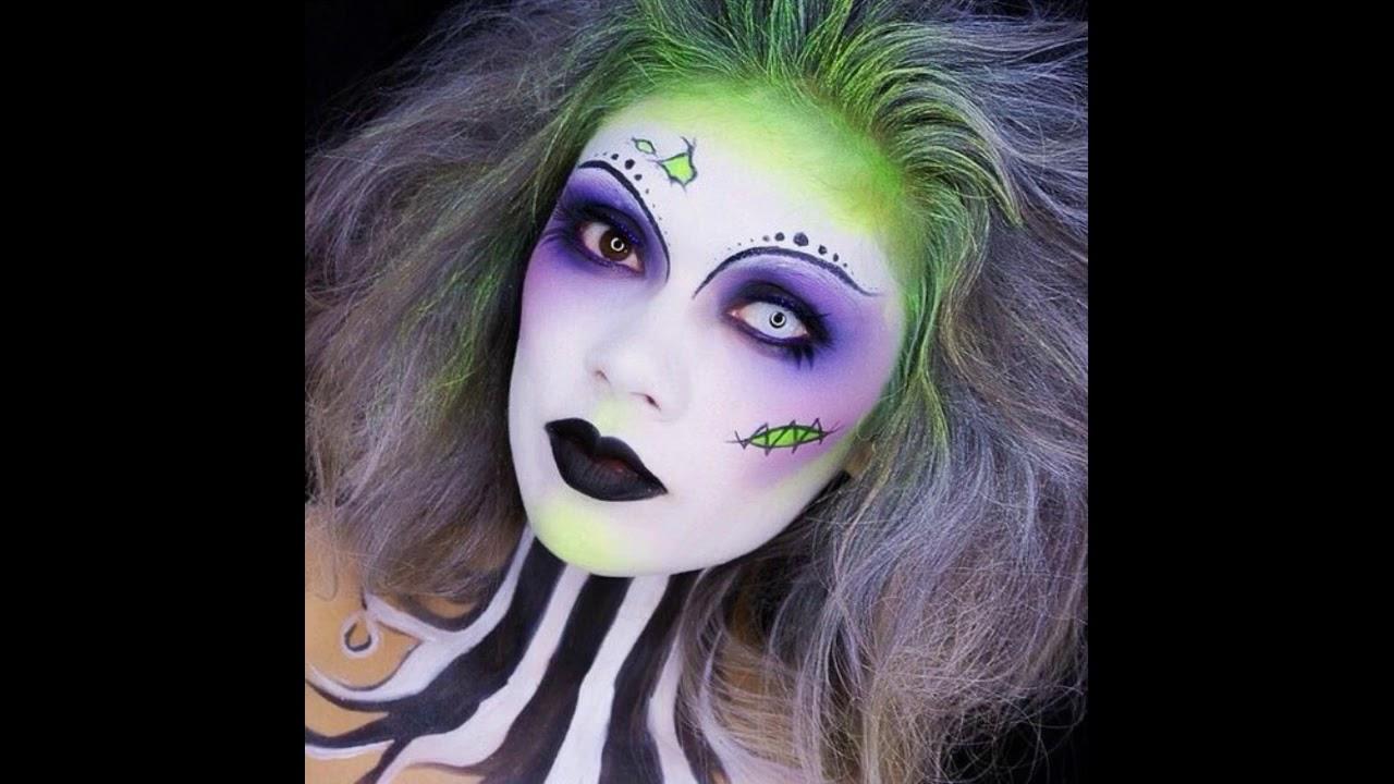 Top 20 Halloween costumes design makeup 2017 - YouTube