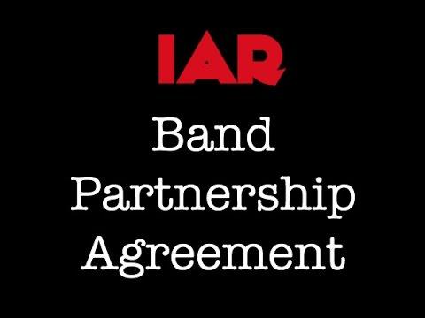 Indie Artist Resource - Band Partnership Agreement