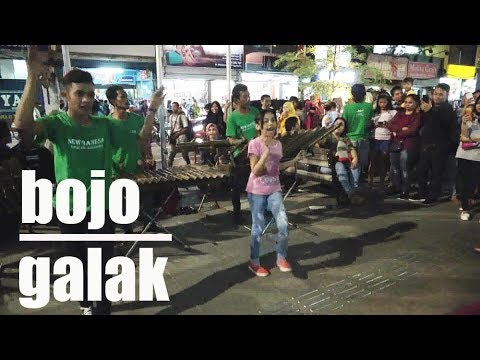 BOJO GALAK -- ANGKLUNG NEW BANESA -- MALIOBORO STREET MUSICIANS – YOGYA