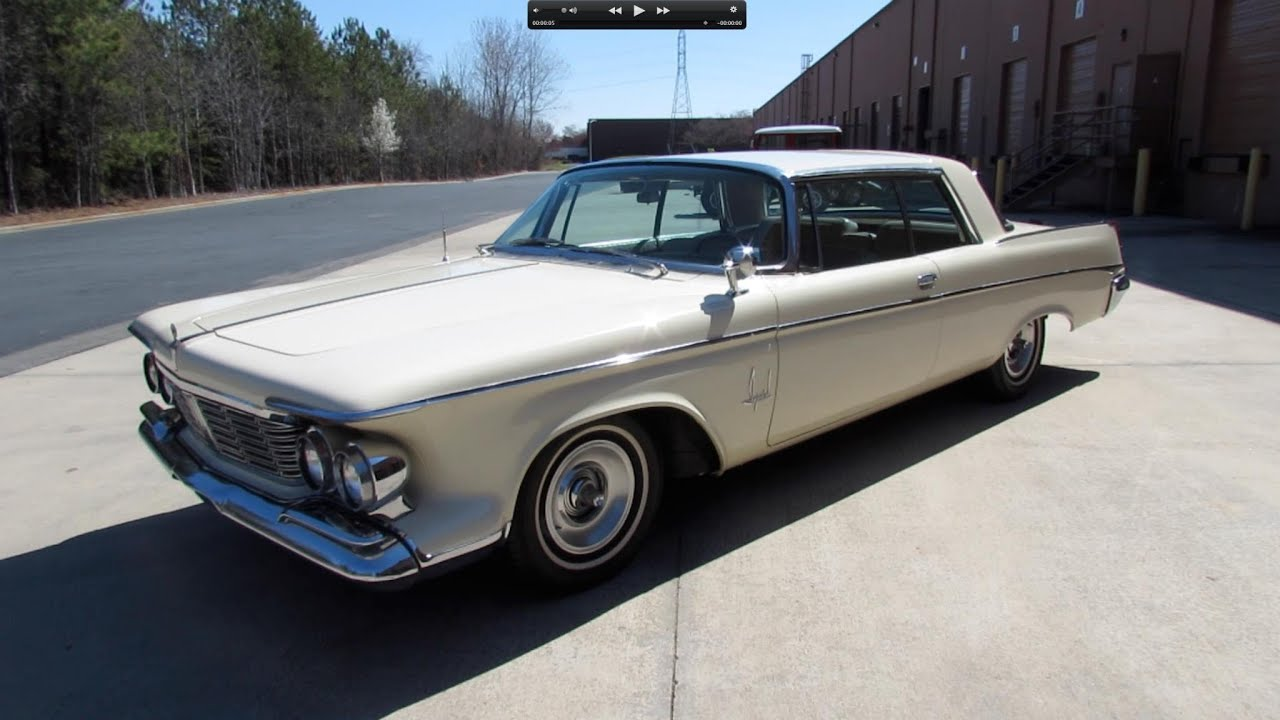 1963 Chrysler Imperial Crown 2-Door Hardtop Start Up, Exhaust, and ...