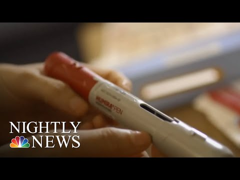 World's Best-Selling Drug Costs Five Times More In U.S. Than Europe | NBC Nightly News