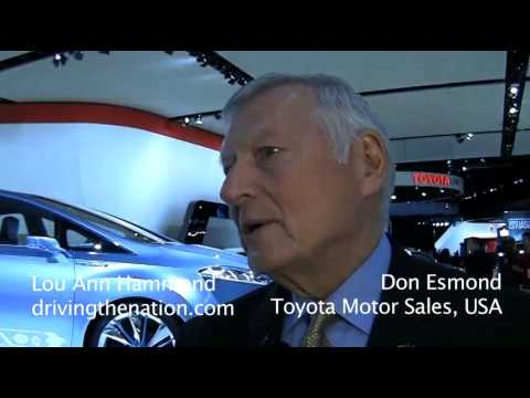 Toyotas Don Esmond on CAFE on Driving the Nation