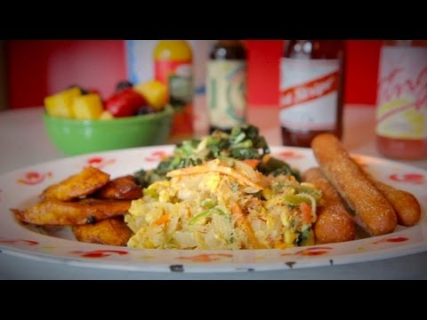 Make Spicy-Sweet Ackee and Saltfish at Miss Lily's - NY CHOW Report Screenshots