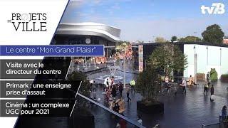 """Projets de Ville. Le centre commercial """"Mon Grand Plaisir"""" à Plaisir"""
