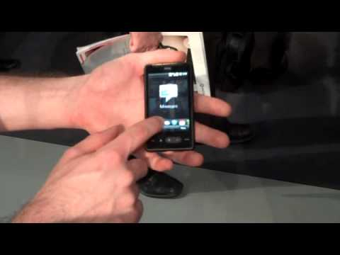 HTC HD mini demo