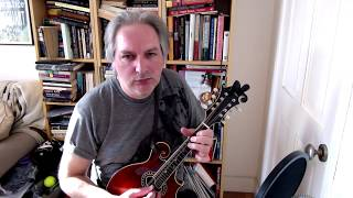 Rakish Paddy (reel) on mandolin