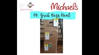 Huge $4 Michael's Grab Bag Haul $533 Worth for $12 Spring time haul