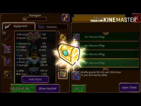 Arcane Legends | Opening 30 Orc Shaman Effigy