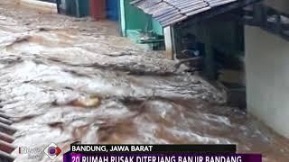 Video Amatir Dasyatnya Banjir Bandang Cicaheum, Bandung - iNews Sore 20/03