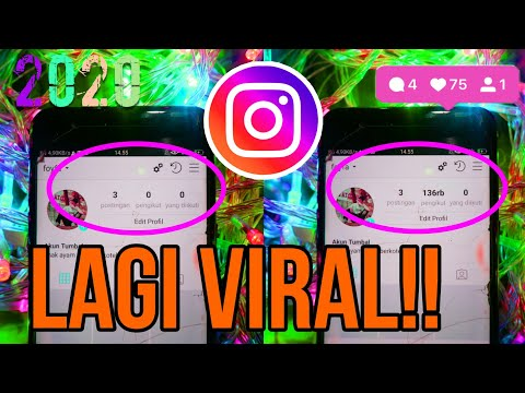 TUTORIAL MENAMBAH FOLLOWERS INSTAGRAM SEKALI KLIK