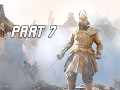 FOR HONOR Walkthrough Part 7 - BOSS GENERAL TOZEN (PS4 Pro Let's Play Gameplay Commentary)