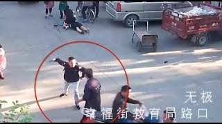 Veteran Risks His Life to Stop Robber in North China