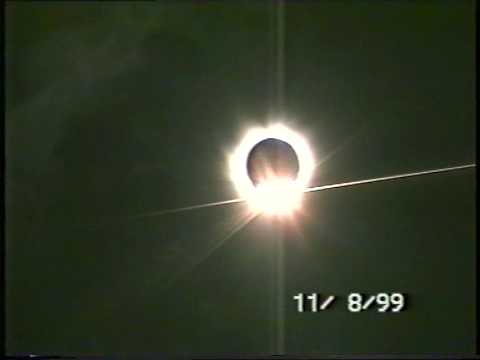Total Solar Eclipse Aug 11th 1999 France Le Havre 11/08/99 11.08.99