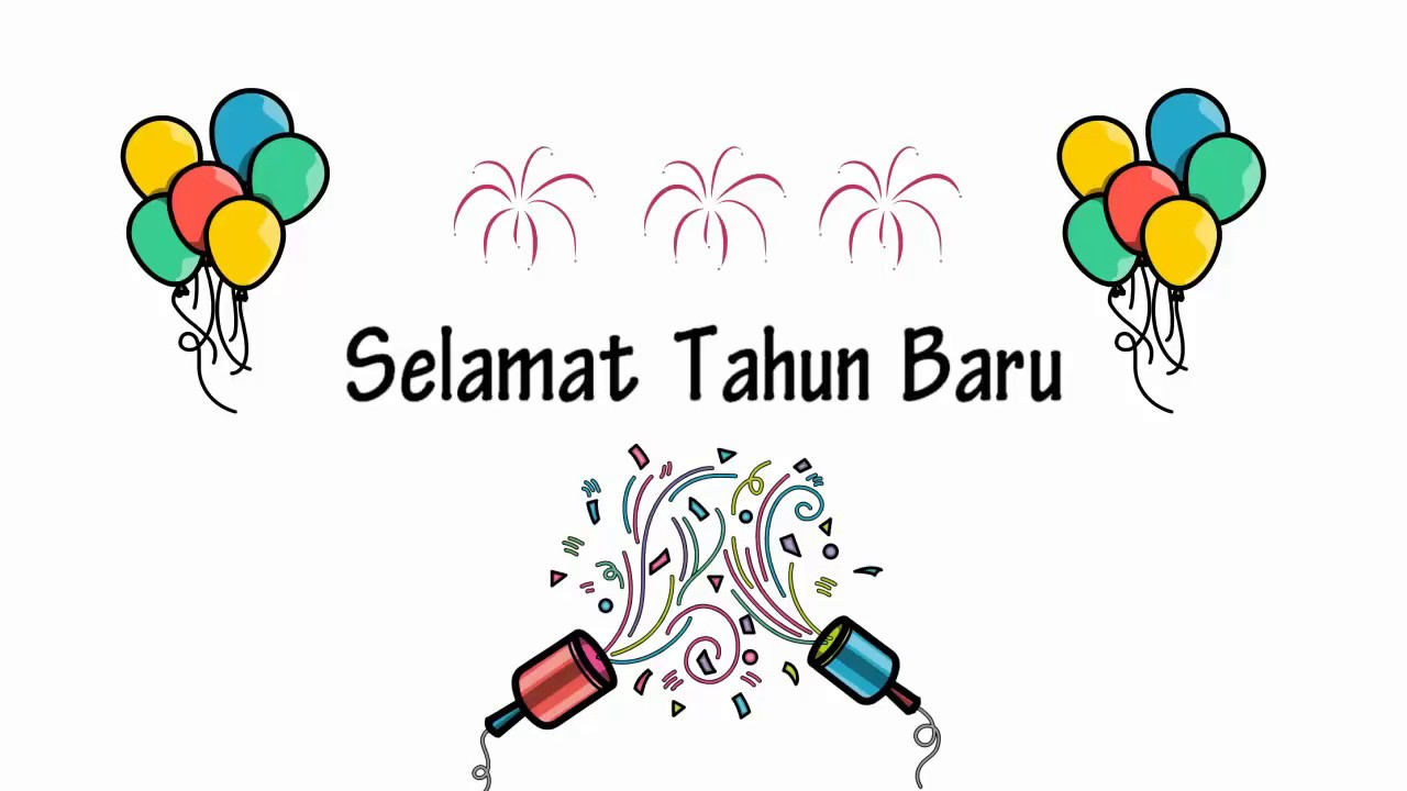 Happy New Year Kartun 9