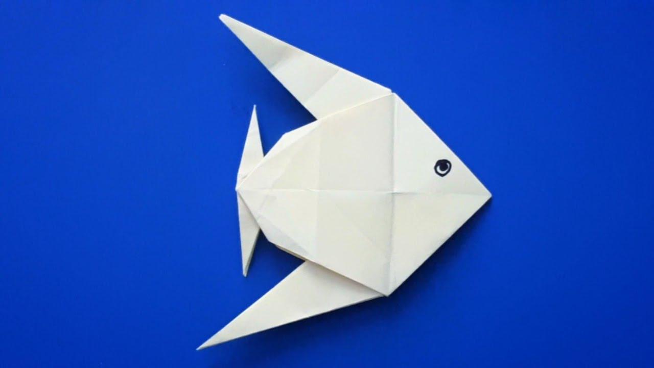 Kağıttan balık yapımı (origami) - Kağıttan balık nasıl yapılır?