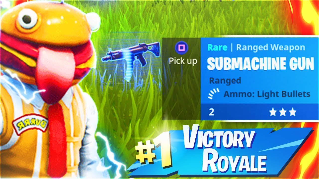 New SUBMACHINE GUN Fortnite Battle Royale Update! Tactical SMG REMOVED! (Fortnite Update)
