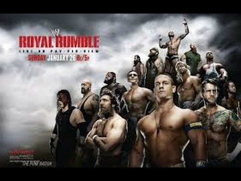 30 Man Royal Rumble 2014 Full Match