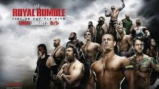 WWE 30 Man Royal Rumble 2014 Full Match