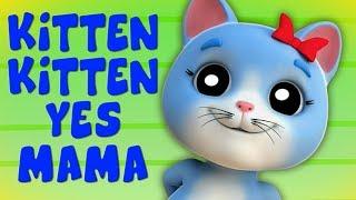 gatinho gatinho sim mama   rimas em portugues   Kitten Kitten Yes Mama   Farmees Português