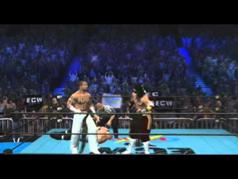 WWE '13: ECW vs FMW Head to Head! Full PPV (Machinima)