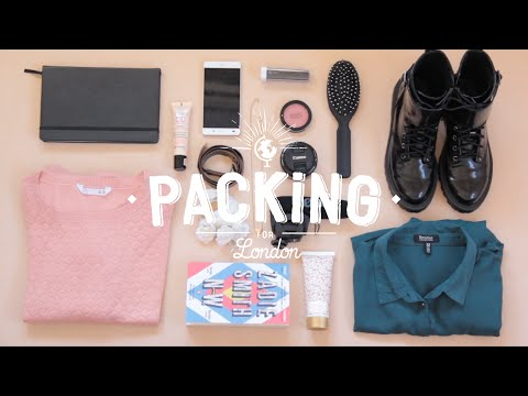 Packing for London