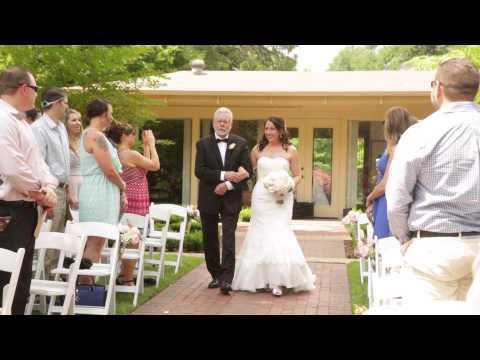 Fort Worth Wedding at Botanic Garden for Lauren and Davis!