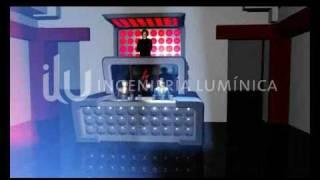 ilu Ingeniería Barra y Cabina DJ - Leds - Control RGB (3DS SBS).-