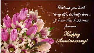 Happy anniversary wishes video...Anniversary wishes-greeting WhatsApp status