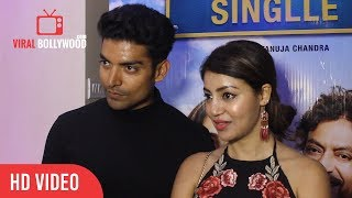 Debina Bonnerjee And Gurmeet Choudhary At Qarib Qarib Singlle Special Screening | Viralbollywood