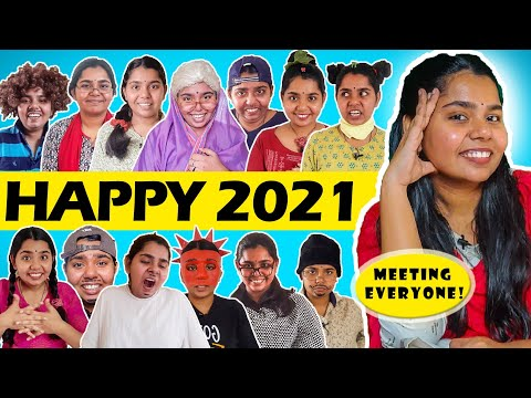 Meeting everyone once again   Revisiting 2020   Happy New year 2021   Simply sruthi *news channel*