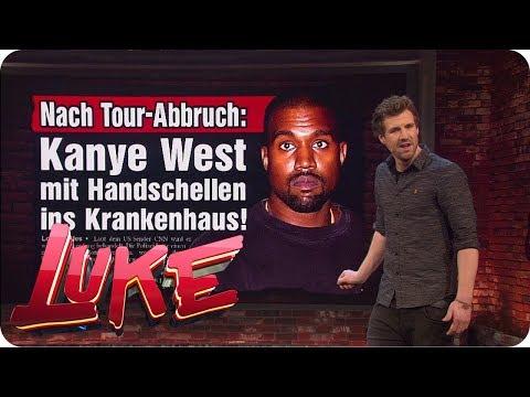 Kanye West: Musik aus der Klinik - Lukes Wochenrückblick