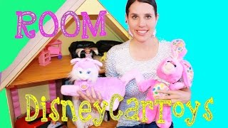 DisneyCarToys Room Childhood Bedroom Video Vintage Toys Barbie Dollhouse American Girl Dolls