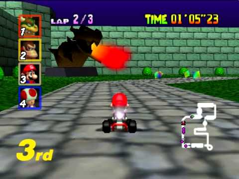 Bowser's Castle 10 Hours - Mario Kart 64