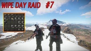 Rust | Wipe day raid (EU Facepunch 1) #7