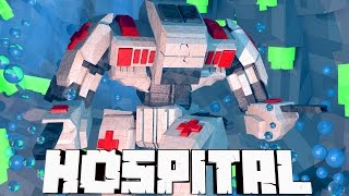 Minecraft Mods Hospital - Mech Ambulances Vs Nuclear Power Plant! (Atlantis Roleplay) #5