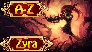 ZYRA, Die Gebieterin der Dornen - League of Legends A-Z