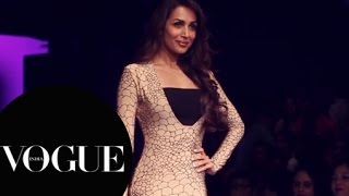 Malaika Arora Khan, Karan Johar - Lakmé Fashion Week Summer/Resort 2015: Day 3