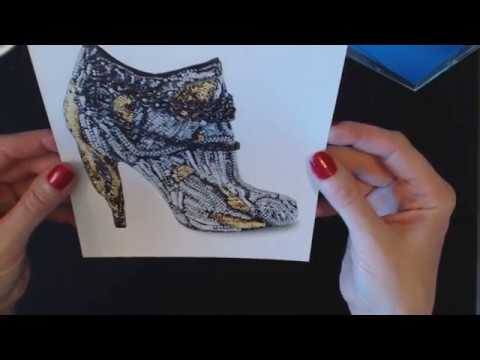 ASMR Whisper ~ Design Shoe Page-A-Day Calendar Show & Tell ~ Southern Accent