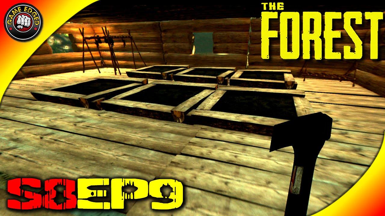 The Forest Gameplay - Indoor Garden Skull Lamps - S8EP9 (Alpha V0 ...