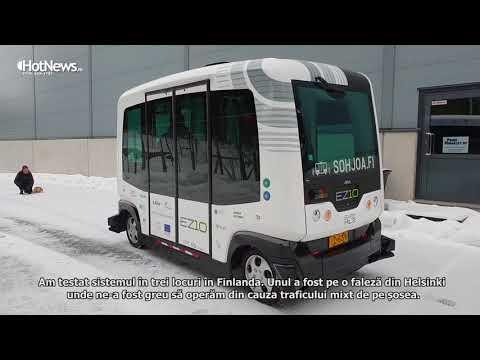 Finland tests electric autonomous buses for public transportation