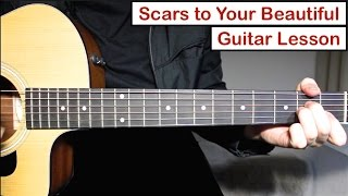 Alessia Cara - Scars To Your Beautiful | Guitar Lesson (Tutorial) How to play Chords