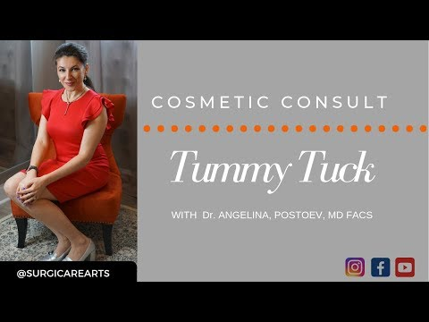 All About Tummy Tuck: Cosmetic Consult With Dr. Angelina Postoev, Atlanta, GA