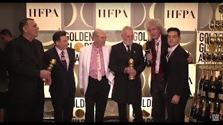 76th Golden Globes Winner Cam: Bohemian Rhapsody