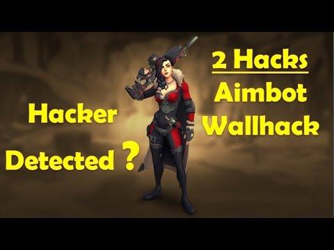 Paladins Ranked - Wallhack / Aimbot Hacker Detected | Noob Hacker