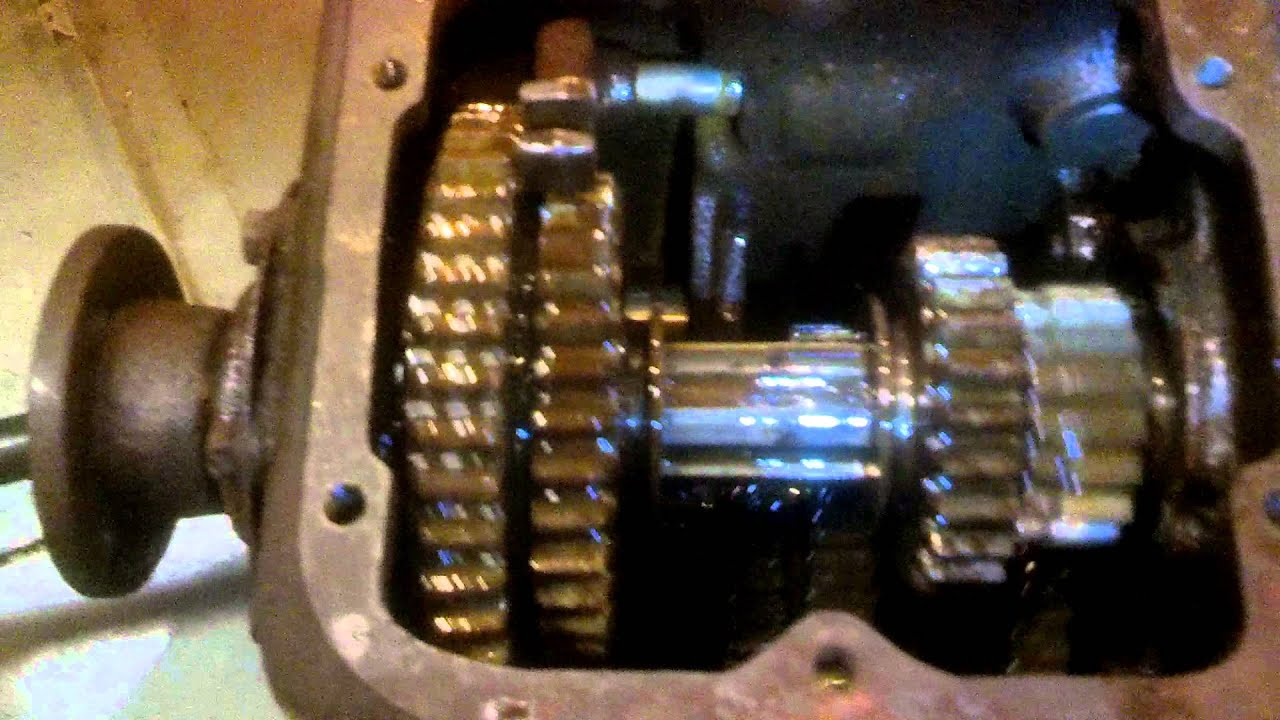 Ford Model AA 4-Speed Transmission Gear Positions