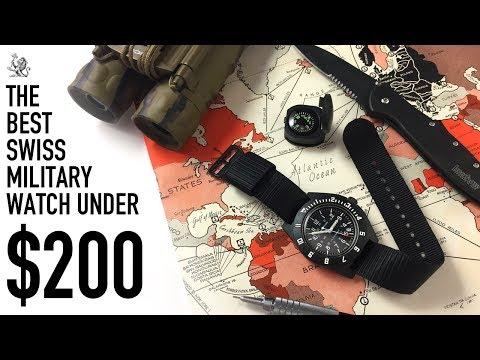 The Best True Military Pilot Swiss Watch Under $200 - The Marathon Navigator Review