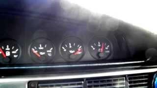 Холодный пуск Audi 100 MC2
