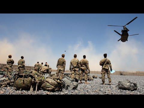 Nhà Báo Mỹ Quay Cảnh Chiến Tranh Ở Afghanistan.