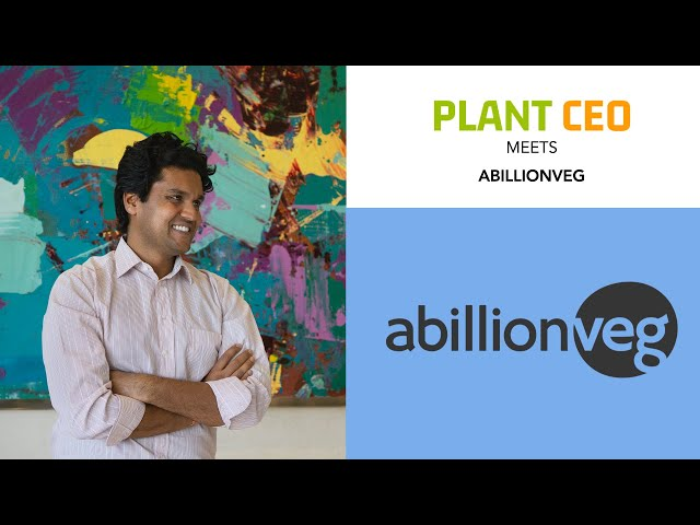 PLANT CEO #11 - abillionveg: The app that gives back to animal charities
